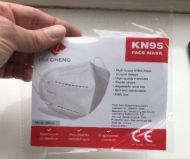 KN95 FFP2 mondkapjes 5 laags set 10 stuks