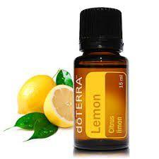 Lemon Essentiële Olie enkelvoudige olie Citroen 15 ml.