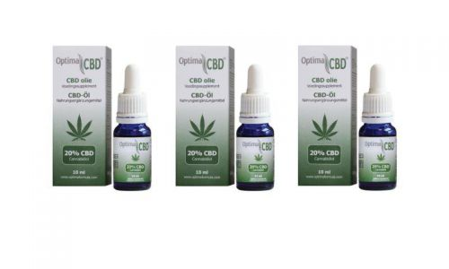 CBD olie (cannabidiol0 20% 12 x 10 ml