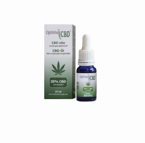 CBD olie (cannabidiol) 20% 10 ml