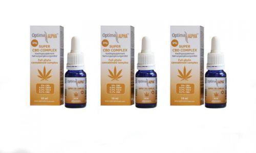 Alpha CBD olie (cannabinoïden complex) 5% 3 x 10 ml